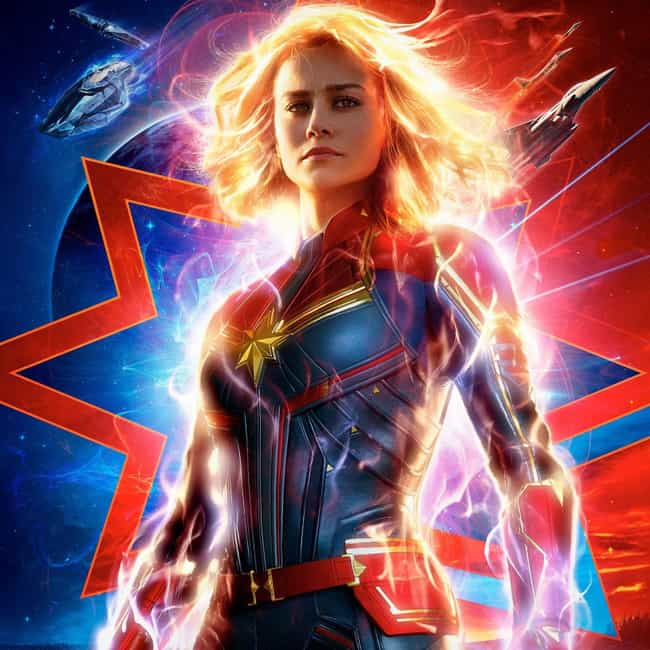Captain Marvel is listed (or ranked) 2 on the list The Most Anticipated Projects Of 2019, Ranked By If They Lived Up To The Hype