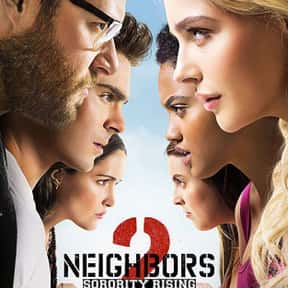 Neighbors 2: Sorority Rising is listed (or ranked) 15 on the list The Best Seth Rogen Movies