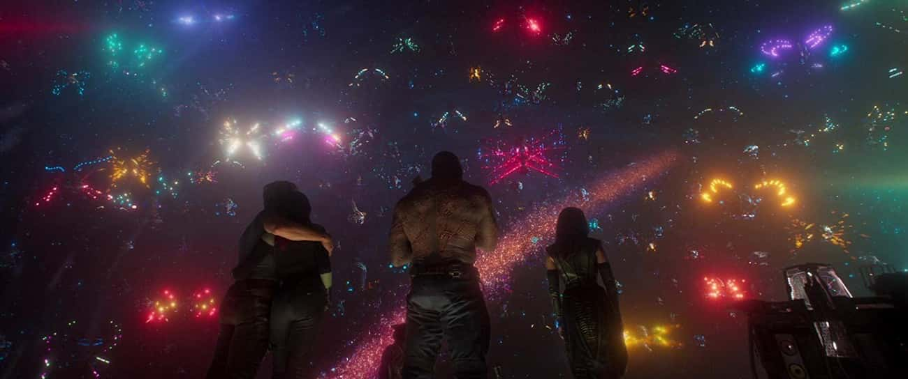 'Guardians of the Galaxy Vol.  is listed (or ranked) 1 on the list 15 Legitimately Touching Moments In MCU Movies