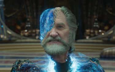 Ego In 'Guardians of the Galax is listed (or ranked) 2 on the list 20 Benevolent Characters Who Turn Out To Be The Bad Guy, Ranked By How Quickly You Saw It Coming