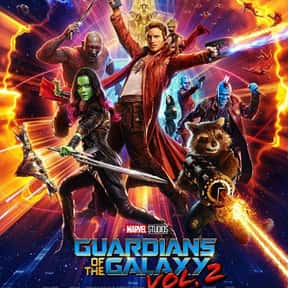 Guardians of the Galaxy Vol. 2 is listed (or ranked) 15 on the list The Best Movies Based on Marvel Comics