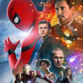 Spider-Man: Homecoming is listed (or ranked) 25 on the list The Best PG-13 Thriller Movies