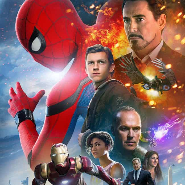 Spider-Man: Homecoming is listed (or ranked) 2 on the list The Best Spider-Man Movies