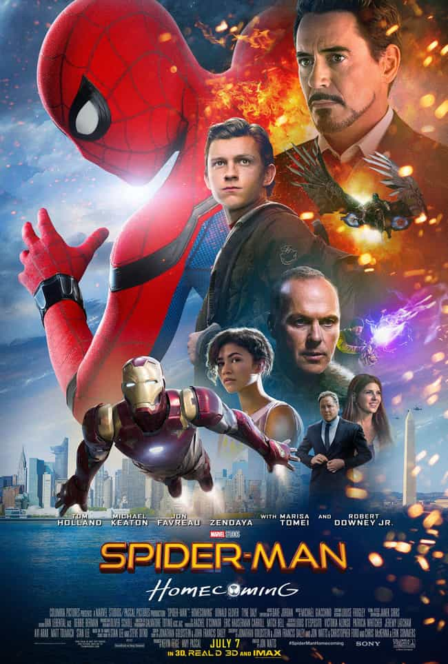 Spider-Man: Homecoming is listed (or ranked) 2 on the list The Best Zendaya Movies