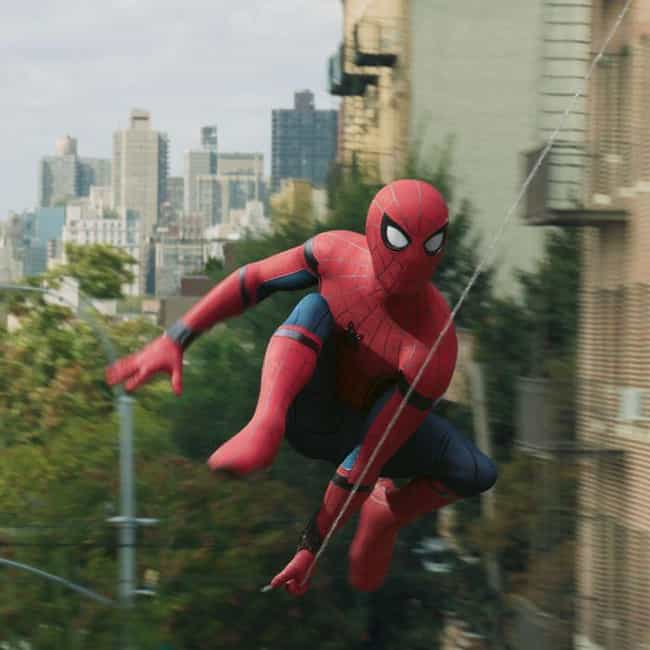 Spider-Man: Homecoming is listed (or ranked) 3 on the list Ranking Every Live-Action Spider-Man Costume