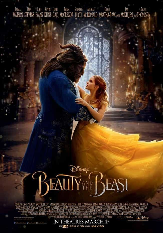 Beauty and the Beast is listed (or ranked) 1 on the list The Best Disney Live-Action Remakes Of The Last Few Years, Ranked