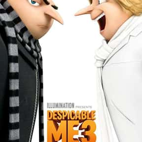 Despicable Me 3 is listed (or ranked) 5 on the list The Best Movies for 3-Year-Olds
