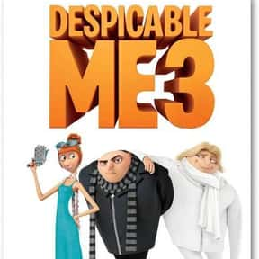 Despicable Me 3 is listed (or ranked) 14 on the list The Worst Movies That Have Grossed Over $1 Billion