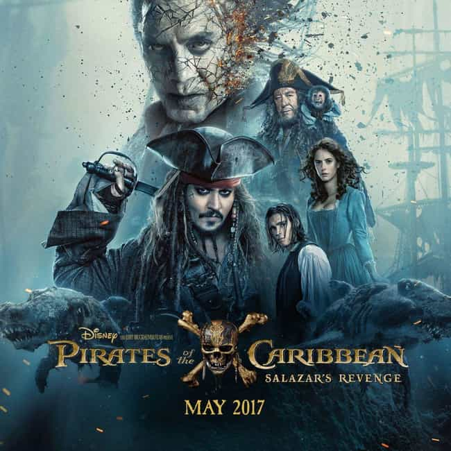 Pirates of the Caribbean: Dead... is listed (or ranked) 4 on the list The Best 'Pirates of the Caribbean' Movies