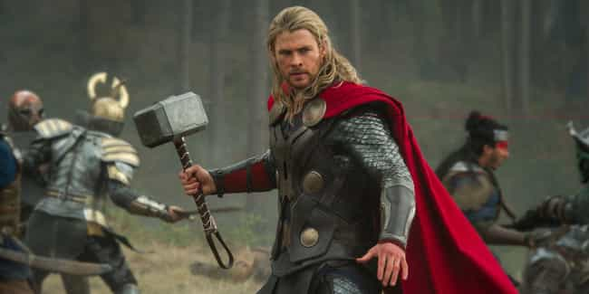 Thor Franchise is listed (or ranked) 2 on the list The Coolest Signature Weapons In Movie History, Ranked