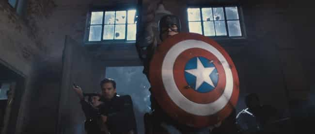 Captain America Franchise is listed (or ranked) 3 on the list The Coolest Signature Weapons In Movie History, Ranked