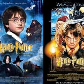 Harry Potter Franchise is listed (or ranked) 1 on the list The Best Film Adaptations of Young Adult Novels