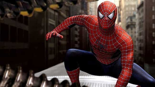 Spider-Man Trilogy (Sam Raimi) is listed (or ranked) 4 on the list Ranking Every Live-Action Spider-Man Costume