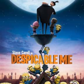 Despicable Me is listed (or ranked) 1 on the list The Best Comedies Rated PG