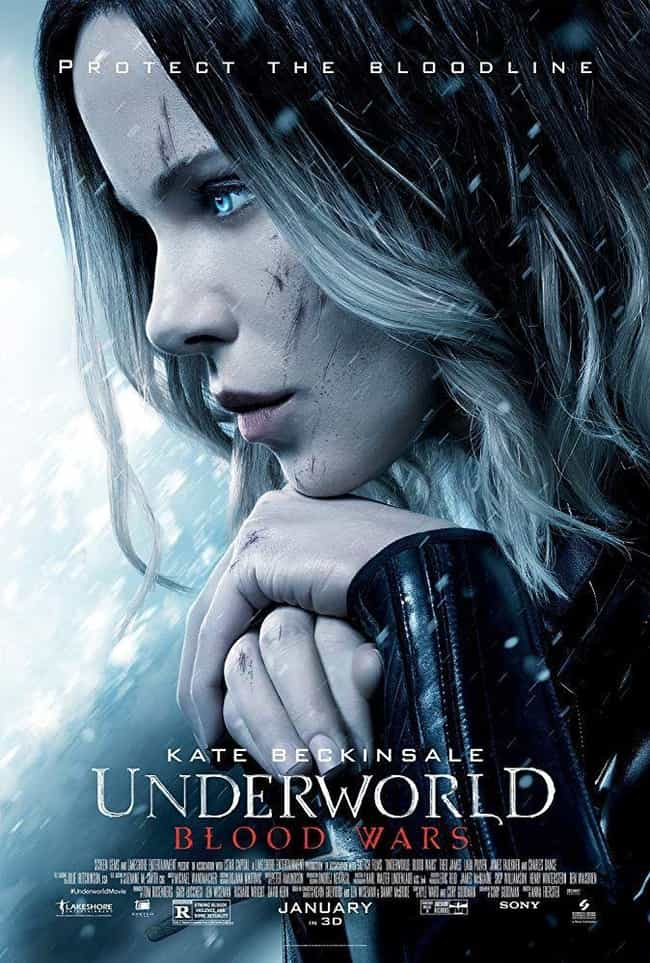 Underworld: Blood Wars is listed (or ranked) 4 on the list Every 'Underworld' Movie, Ranked Best to Worst