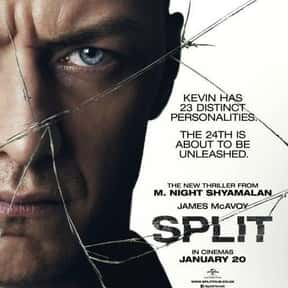 Split is listed (or ranked) 17 on the list The Best Cerebral Crime Movies, Ranked