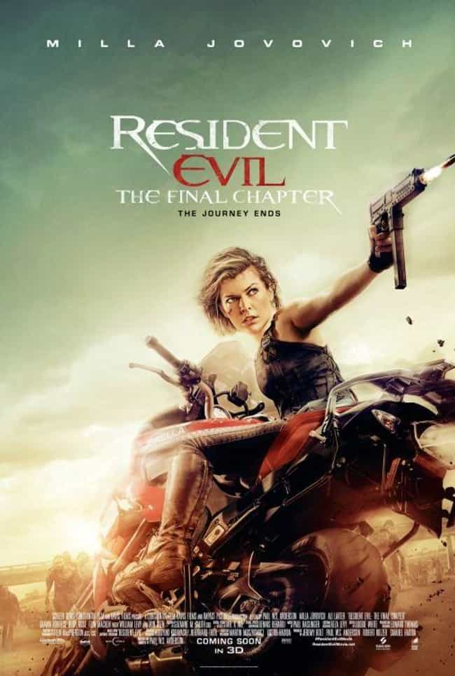 Resident Evil: The Final Chapt... is listed (or ranked) 4 on the list Every Resident Evil Movie, Ranked Best to Worst