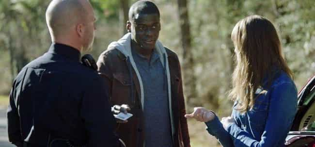 Get Out is listed (or ranked) 2 on the list Small But Interesting Details From Our Favorite Horror Movies That Made Us Say, 'Whoa'