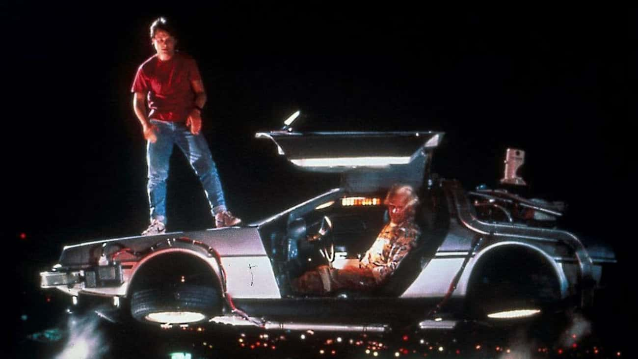 DeLorean DMC-12 ('Back To The  is listed (or ranked) 1 on the list The Best Fictional Time Machines (As Opposed To Real Ones)