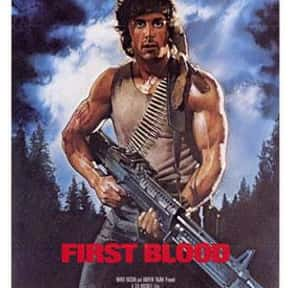 Rambo Franchise is listed (or ranked) 18 on the list The Best Film Franchises Based on Books