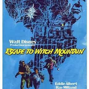 Witch Mountain Franchise is listed (or ranked) 9 on the list The Best Live Action Film Franchises for Kids