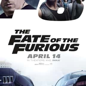 The Fate of the Furious is listed (or ranked) 7 on the list The Most Overrated Movies of All Time