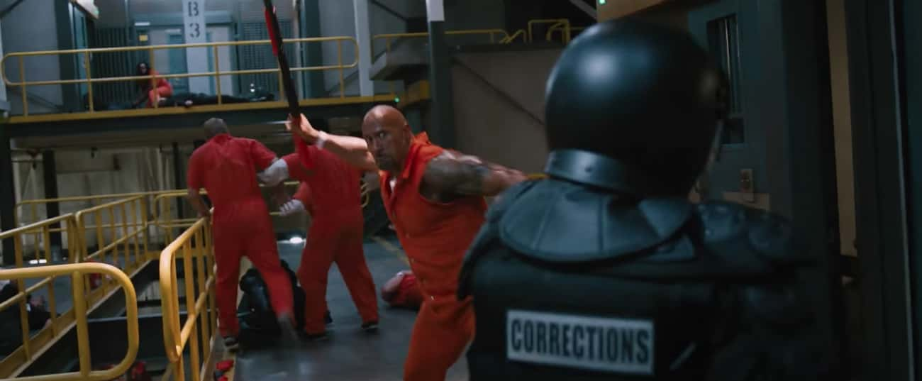 Against An Entire Prison In 'The Fate Of The Furious'