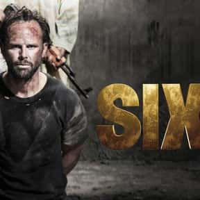 Six is listed (or ranked) 20 on the list The Best Military TV Shows