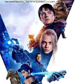 Valerian and the City of a Tho is listed (or ranked) 11 on the list Every Comic Book Movie From 2017, Ranked