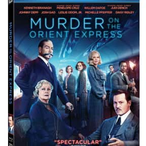 Murder on the Orient Express ( is listed (or ranked) 13 on the list The Best Movies Based on Agatha Christie Stories