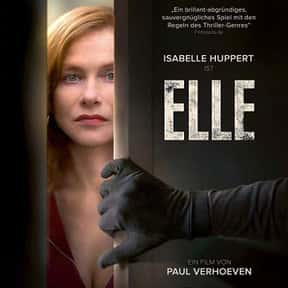 Elle is listed (or ranked) 23 on the list The Best Foreign Films Of The 2010s Decade