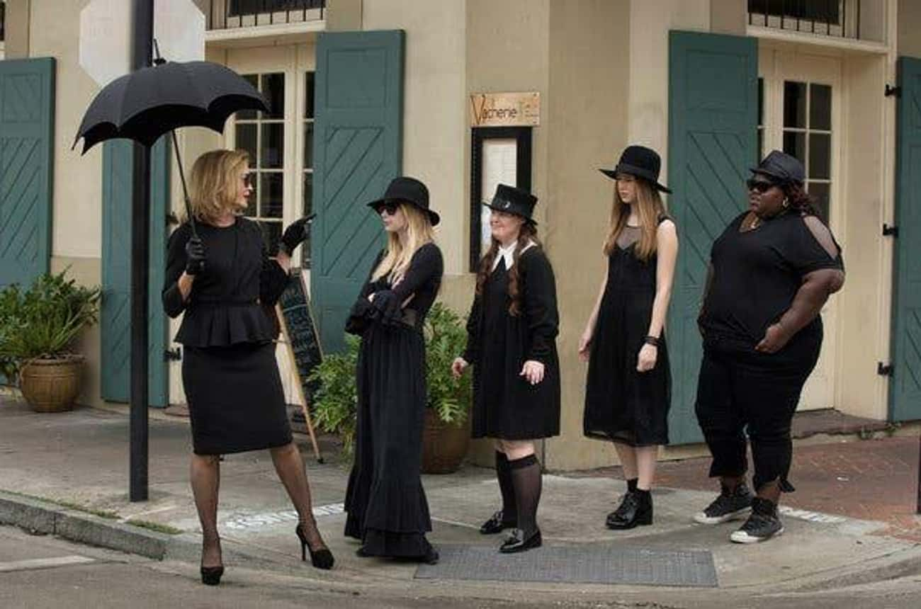 The Treacherous Coven Witches  is listed (or ranked) 4 on the list Each American Horror Story Season Represents One Of The 9 Circles Of Hell, And We Can Prove It