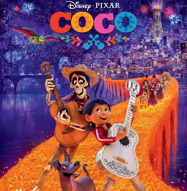 Coco is listed (or ranked) 2 on the list 14 Animated Films That Were Better Than That Year's Best Picture Oscar Winner