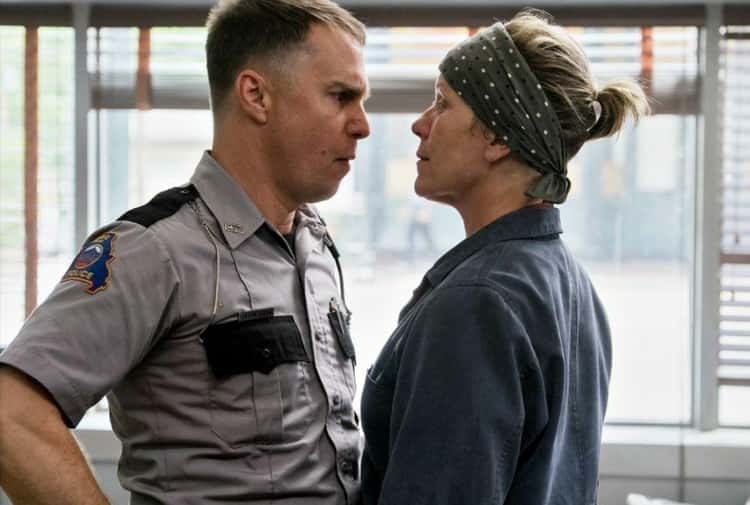 'Three Billboards Outside Ebbing, Missouri' - As A Racist Cop Who Might Need Salvation