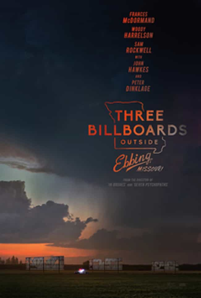 Three Billboards Outside... is listed (or ranked) 3 on the list What to Watch If You Love Wind River
