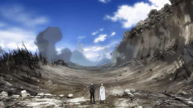 One-Punch Man is listed (or ranked) 4 on the list The 15 Most Dangerous Locations in Anime History