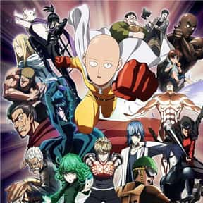 One-Punch Man is listed (or ranked) 5 on the list The Most Popular Anime Right Now