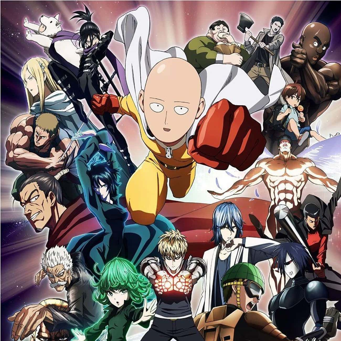 One Punch Man is listed (or ranked) 1 on the list The Best Action Anime of All Time
