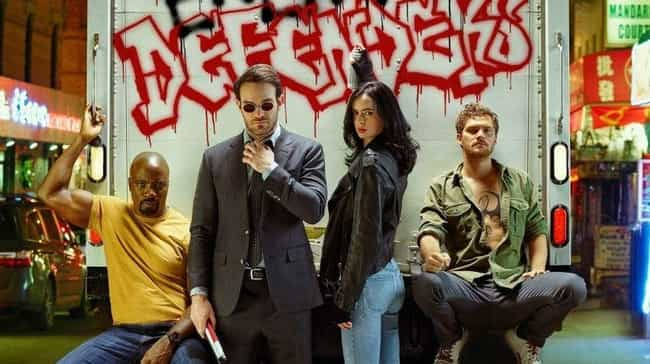 The Defenders is listed (or ranked) 3 on the list Netflix Shows People Are Bingeing The Fastest