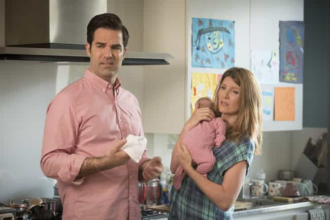 Catastrophe is listed (or ranked) 3 on the list The Best TV Shows With Pregnancy Storylines