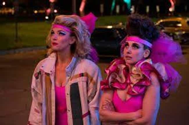 GLOW is listed (or ranked) 4 on the list The Best New Period Piece TV Shows of the Last Few Years