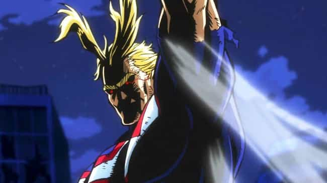 My Hero Academia is listed (or ranked) 1 on the list The 10 Craziest Anime Moments of 2018