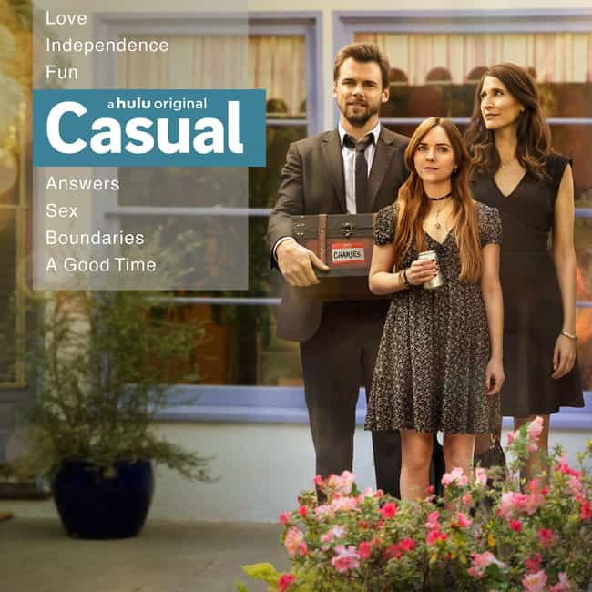 Casual is listed (or ranked) 3 on the list The Best Hulu Original Drama Shows