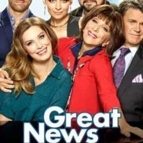 Great News is listed (or ranked) 8 on the list Non-Reality TV Shows That Should Be Canceled