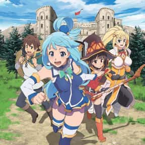 Konosuba: God's Blessing O is listed (or ranked) 18 on the list Which Anime Universe Would You Want To Live In?