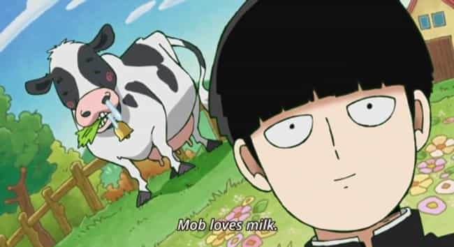 Mob Psycho 100 is listed (or ranked) 4 on the list 15 Anime Without Romance For When You're Sick Of Love