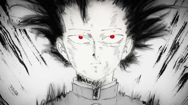 Mob Psycho 100 is listed (or ranked) 3 on the list The 15 Most Overpowered Anime Abilities