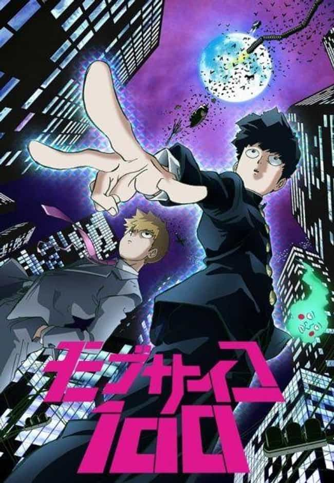 Mob Psycho 100 is listed (or ranked) 2 on the list The Most Unique Art Styles in Anime