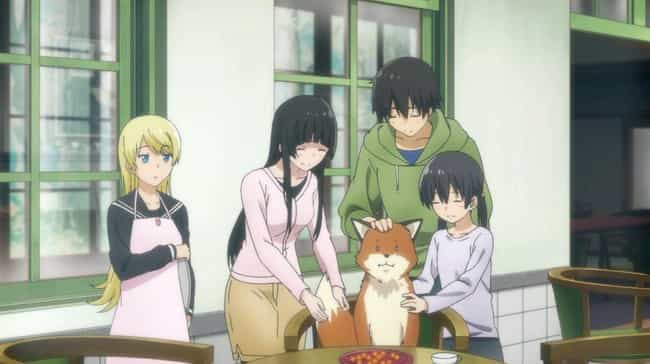 Flying Witch is listed (or ranked) 8 on the list 15 Great Anime With Virtually No Violence