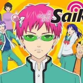 The Disastrous Life of Saiki K is listed (or ranked) 13 on the list The Best Anime Streaming on Netflix